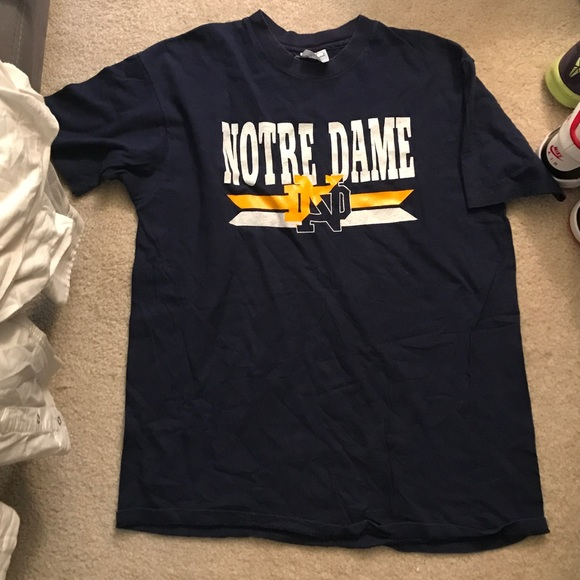 82a47553 Champion Shirts | Vintage Notre Dame Nd Tee T Shirt | Poshmark